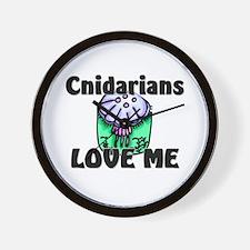 Cnidarians Love Me Wall Clock