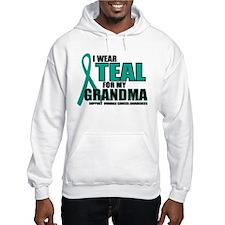 OC: Teal For Grandma Hoodie