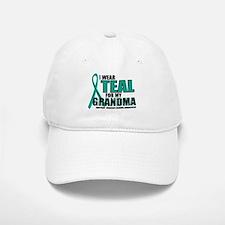 OC: Teal For Grandma Baseball Baseball Cap