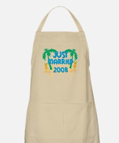 JUST MARRIED 2008 BBQ Apron