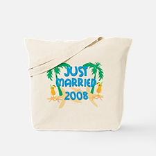 JUST MARRIED 2008 Tote Bag