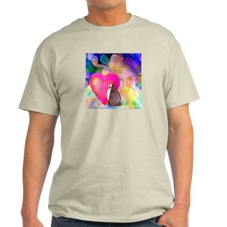 'Tucker's Heart' Ash Grey T-Shirt