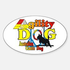 ACD Agility Oval Sticker (10 pk)