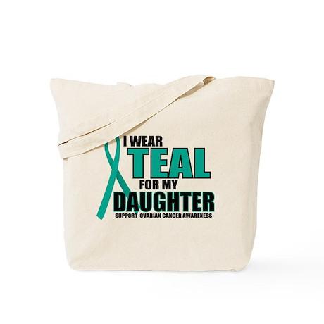 OC: Teal For Daughter Tote Bag