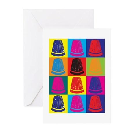 Sewing Pop Art Greeting Cards (Pk of 10)