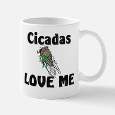 Cicadas Love Me Mug