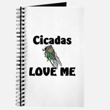 Cicadas Love Me Journal