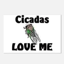 Cicadas Love Me Postcards (Package of 8)