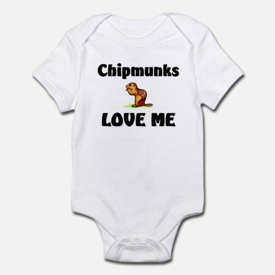 Chipmunks Love Me Infant Bodysuit
