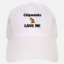 Chipmunks Love Me Baseball Baseball Cap