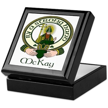 McKay Clan Motto Keepsake Box