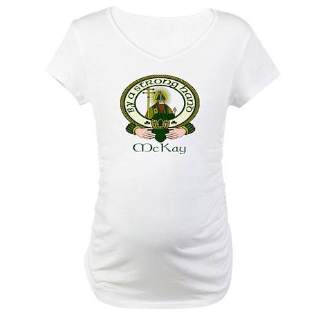McKay Clan Motto Maternity T-Shirt