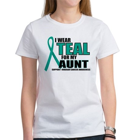 OC: Teal For Aunt Women's T-Shirt