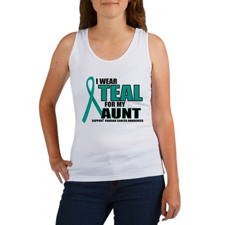 OC: Teal For Aunt Women's Tank Top