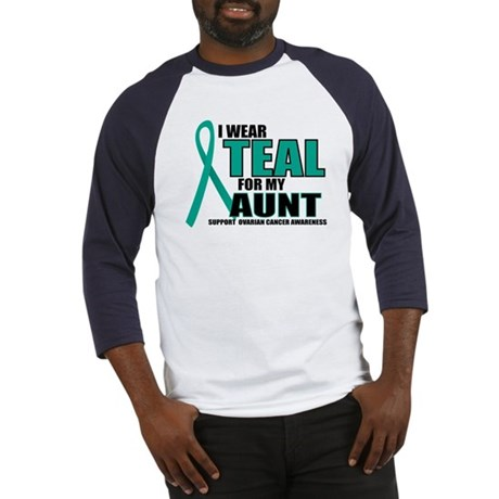 OC: Teal For Aunt Baseball Jersey