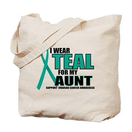 OC: Teal For Aunt Tote Bag