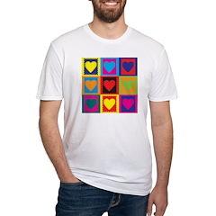 Scrapbooking Pop Art Fitted T-Shirt