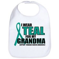 OC: Teal For Grandma Bib