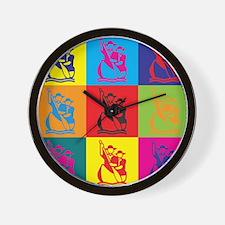 Scout Pop Art Wall Clock