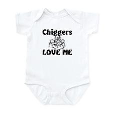 Chiggers Love Me Infant Bodysuit