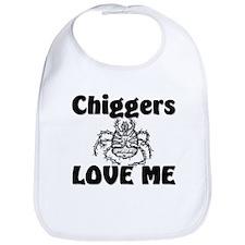 Chiggers Love Me Bib