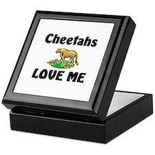 Cheetahs Love Me Keepsake Box