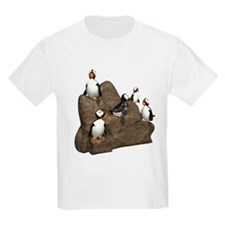 Penguins on Rock T-Shirt