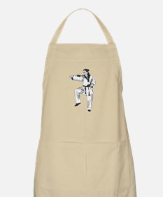 Woman Fighter BBQ Apron