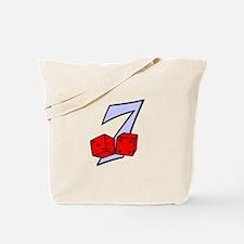 Seven Dice Tote Bag