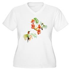 Ruby Throated Hummingbird T-Shirt