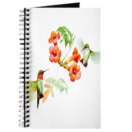 Ruby Throated Hummingbird Journal
