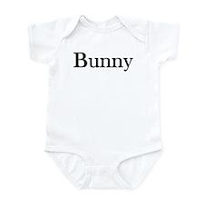 "Instant ""Bunny"" Costume Infant Creeper"