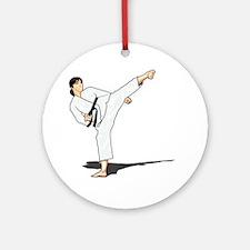 Side Kick Ornament (Round)