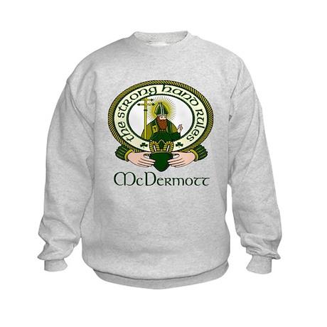 McDermott Clan Motto Kids Sweatshirt