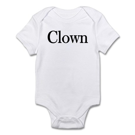 "Instant ""Clown"" Costume Infant Creeper"