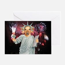 America Too Greeting Card