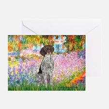 Garden/German Pointer Greeting Cards (Pk of 10)