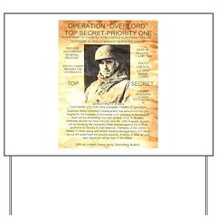 General Omar Bradley Yard Sign