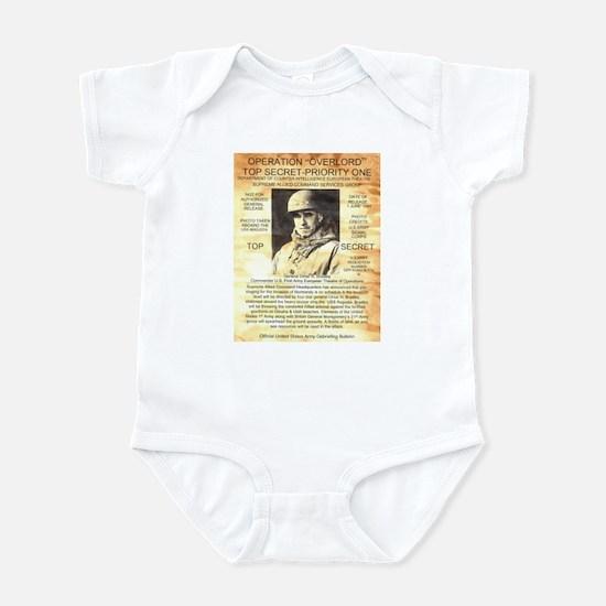 General Omar Bradley Infant Bodysuit