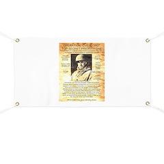 General Omar Bradley Banner