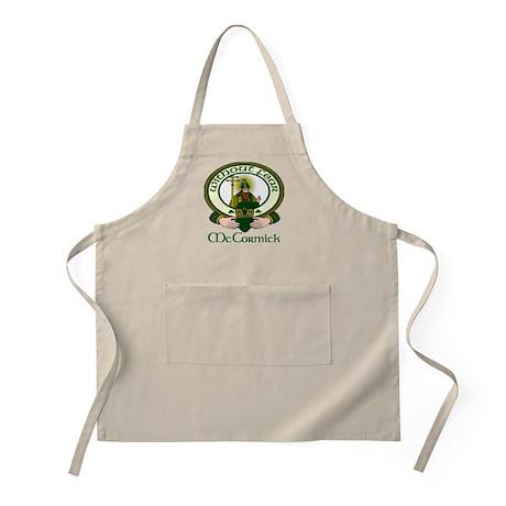 McCormick Clan Motto BBQ Apron