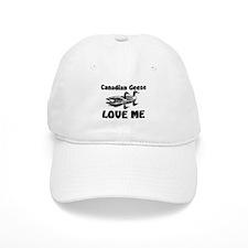 Canadian Geese Love Me Baseball Cap