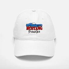 MUSTANG GRANDPA Baseball Baseball Cap