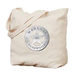 Deadwood Marshal Tote Bag