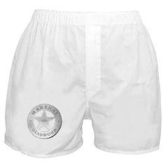 Deadwood Marshal Boxer Shorts