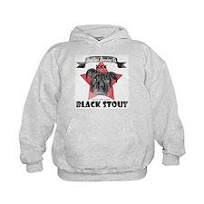 Black Stout Kids Hoodie