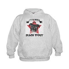 Black Stout Hoodie