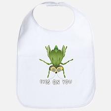 """Beetle """"Bug"""" Eyes On You Bib"""