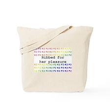 Unique Ribbed Tote Bag