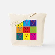 Rowing Pop Art Tote Bag